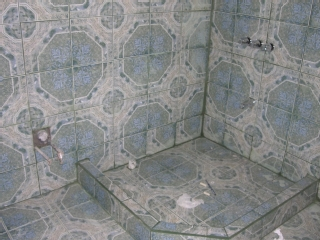 1 if the 4 bathrooms (Entire house is tiled!)